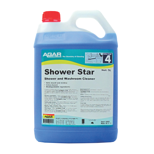 Agar Shower Star
