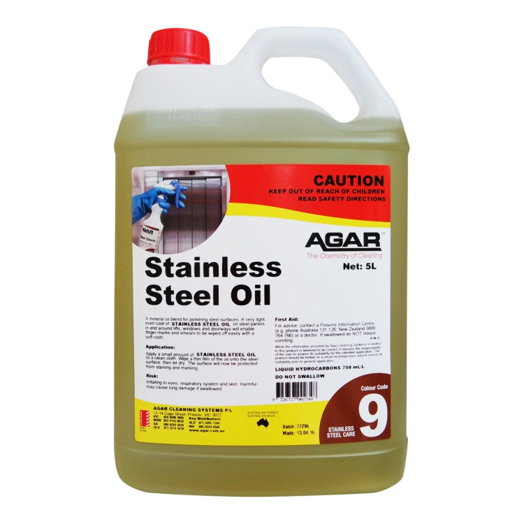 Agar Stainless Steel Oil