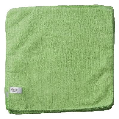 Value Microfibre Cloths – Green
