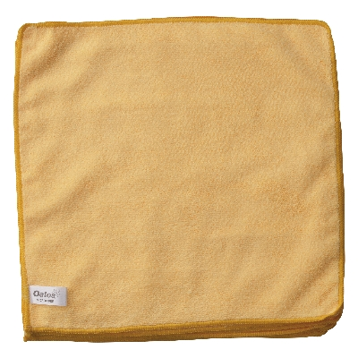 Value Microfibre Cloths – Yellow