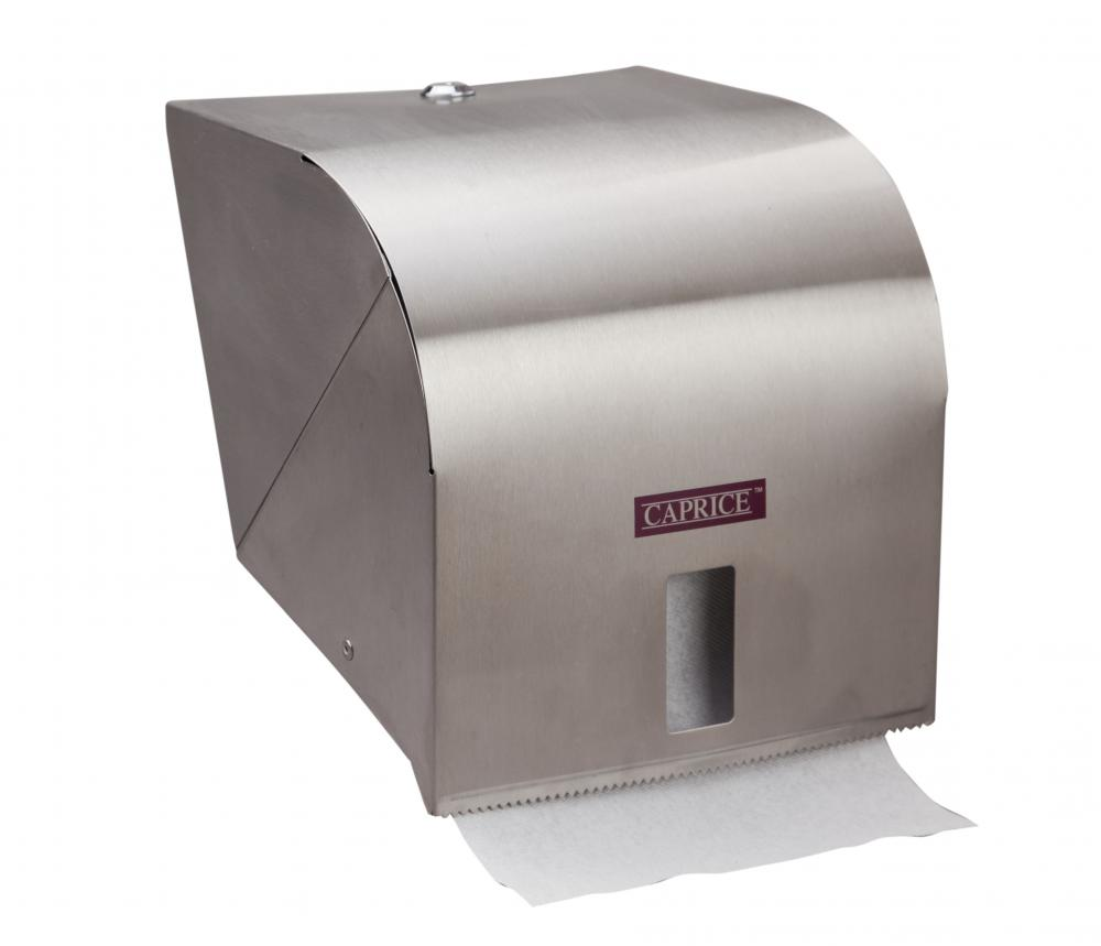 Caprice Roll Towel Dispenser Stainless Steel