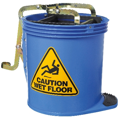 Contractor Wringer Bucket – Blue