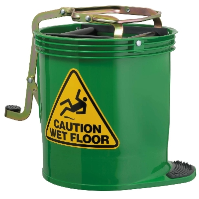 Contractor Wringer Bucket – Green
