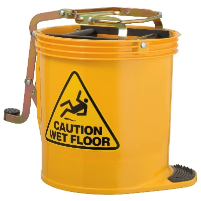 Contractor Wringer Bucket – Yellow